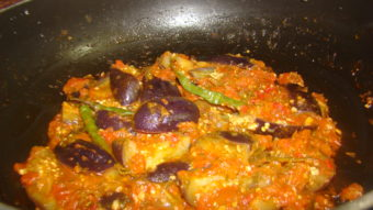 Small Brinjal Curry Recipe