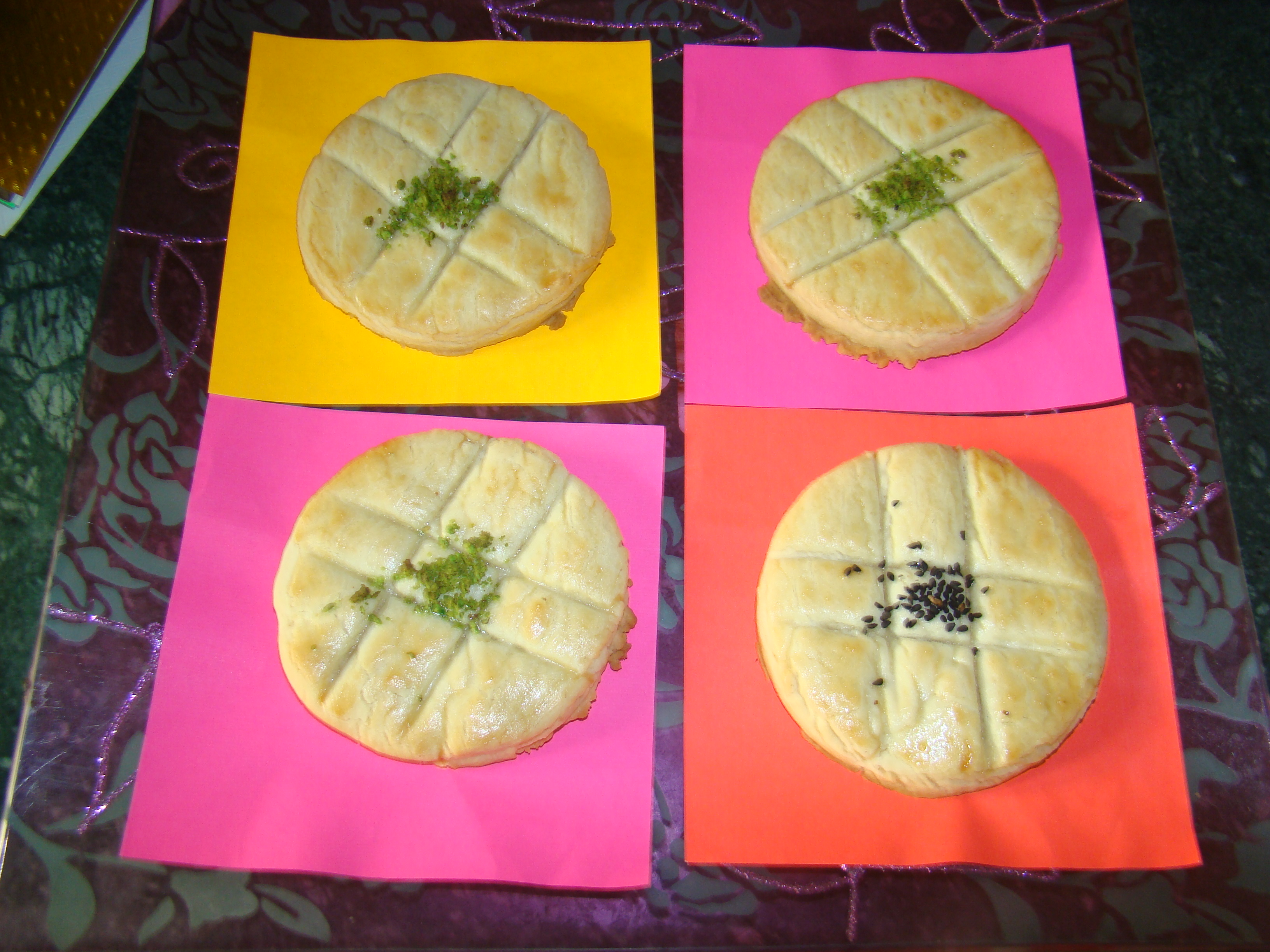 Kolcha E Nowrozi or Kolcha E Berenji (Rice Cookies) Recipe