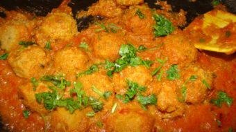 Soya Meatballs/Kofta Recipe