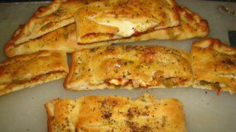 Paneer Vegies Calzone Recipe