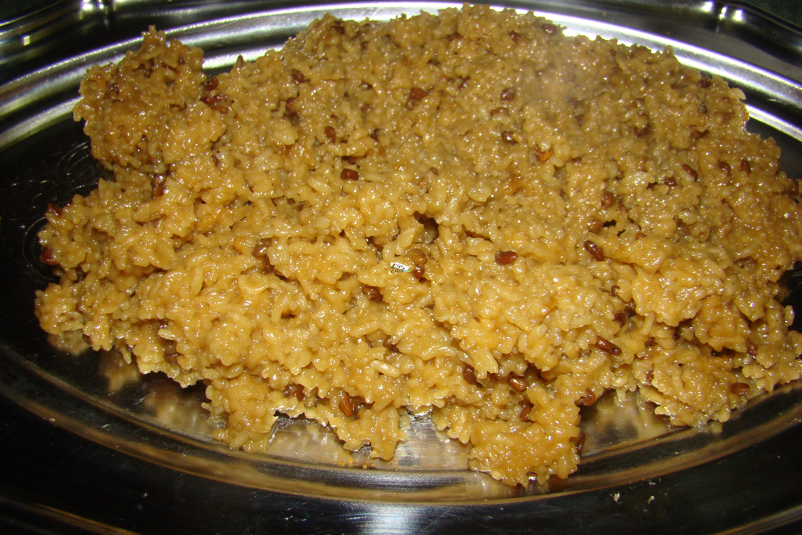 Kecher Ulba (rice with fenugreek) Recipe