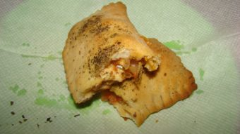 Veg Pizza Puff Recipe