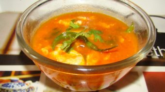 Pyawa Tokhom (egg soup) Recipe