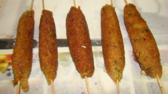 Soya Seekh Kabab Recipe