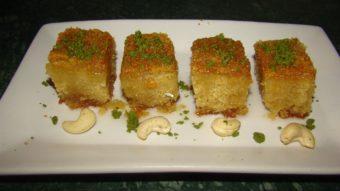 Cake Suji (Semolina Cake) Recipe
