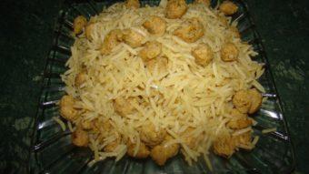 Soya Palau Recipe