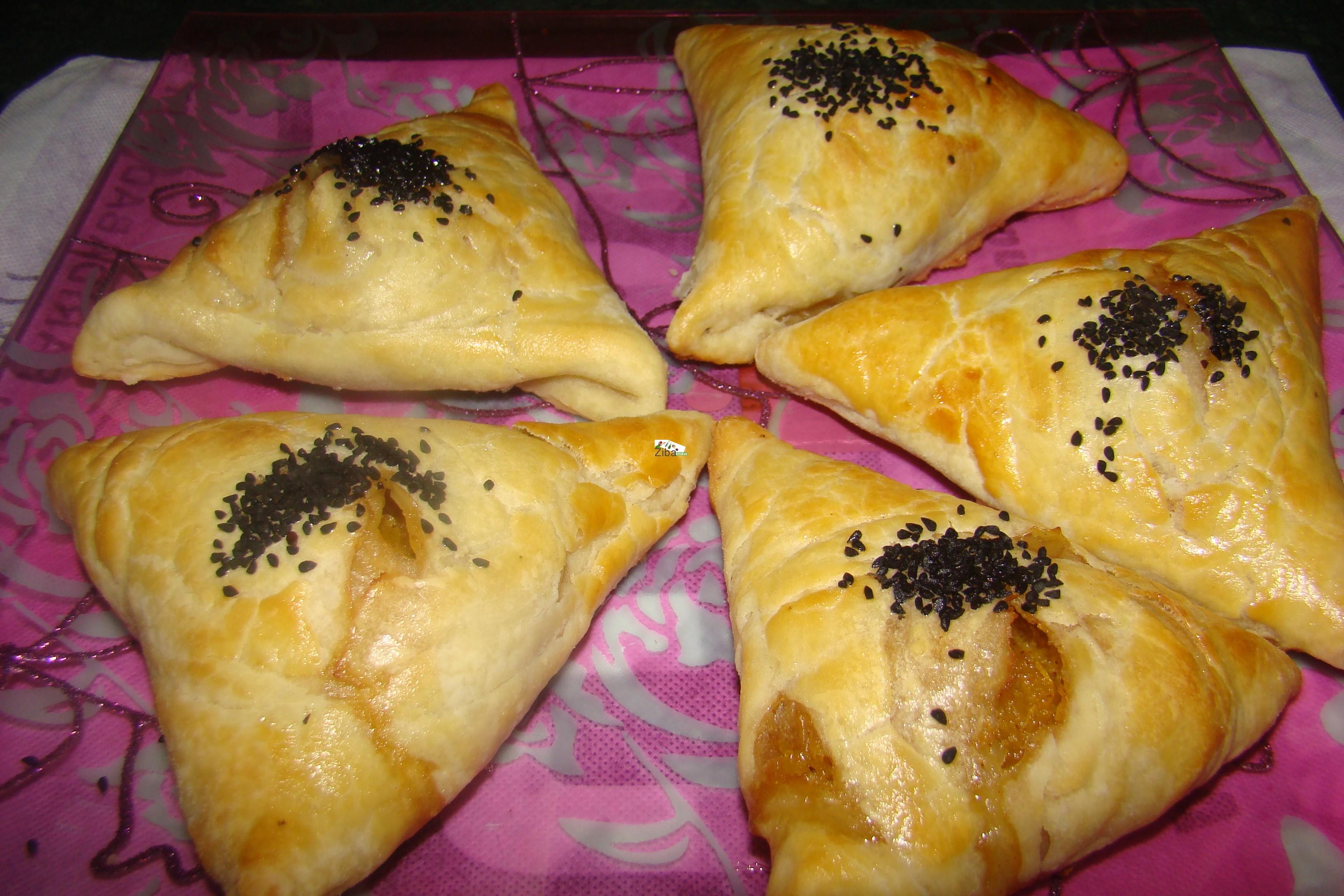 Pastry Pumpkin Samosa Recipe