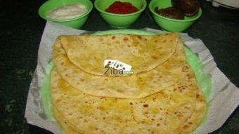 Dal Stuffed Paratha Recipe