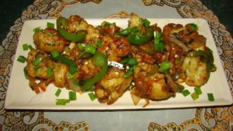 Cauliflower Manchurian Recipe