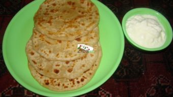 Soya Stuffed Paratha Recipe