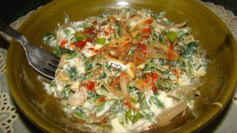 Borani/Burani Sabzi Recipe