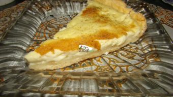 Egg Custard Pie Recipe