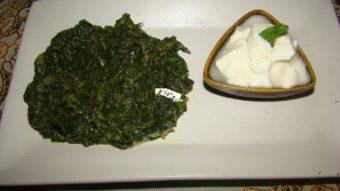 Sabzi Palak (Spinach Stew) Recipe