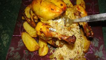 Rice Stuffed Chicken Recipe