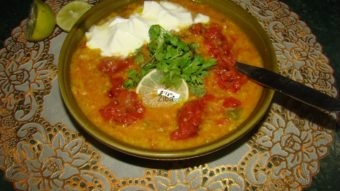 Wheat Flour Soup (Omaach) Recipe