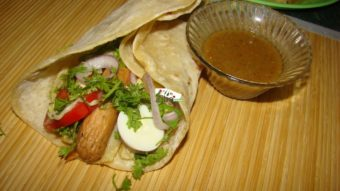Sausage Burger (Afghani) Recipe