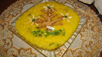 Saffron Sweet Rice Pudding (Shole Zard) Recipe
