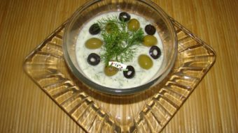 Cucumber Dill Dip Recipe
