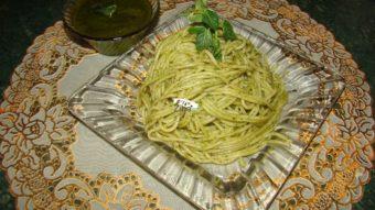 Pesto Spaghetti Recipe