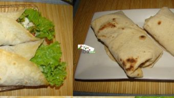 Paneer Chips Wrap Recipe