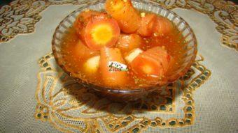 Afghani Carrot Pickles Recipe