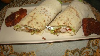 Spicy Chicken Wrap Recipe