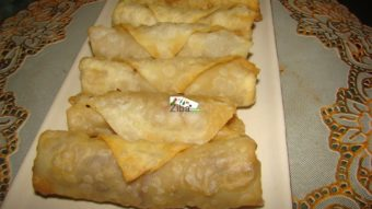 Cabbage & Onion Spring Rolls Recipe