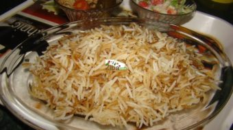 Rice (Chalau) Recipe