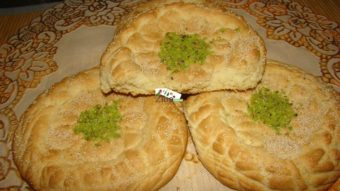 Small Flat Sweet Bread (Homemade) Recipe