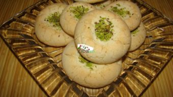 Melt in Mouth Cookies (Kolcha Ab Dandan) Recipe