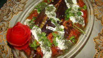 Eggplant Stew (Banjaan Charikari) Recipe