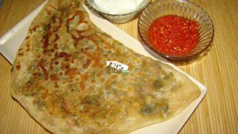 Bolani sabzi Shaftal Recipe