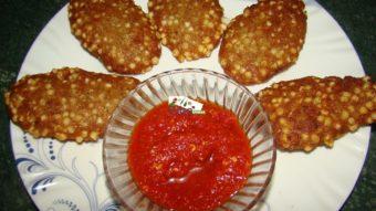 Sabodana (sago) Cutlets Recipe