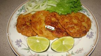 Potato Wheat Flour Cutlets Recipe