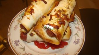 Sausage Cheesy Rolls Recipe