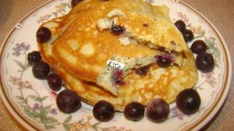Blueberry Pancake Recipe