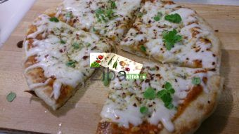 Cheese Pan Pizza Recipe